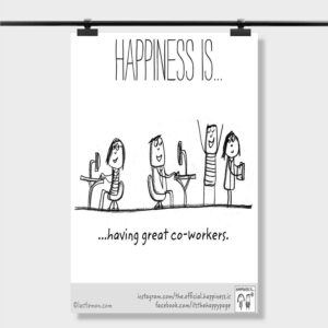 motivational quotes for coworkers Custom Printed Poster Wall Decor
